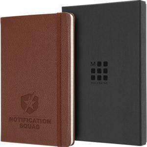 Moleskine Notitieboek Leer met Logo