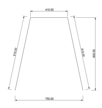 Plexiglas scherm corona