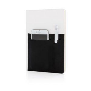 A5 Deluxe notitieboek met slimme opbervakken_wit_3