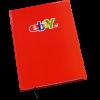 Hardcover notitieboek naar wens bedrukt