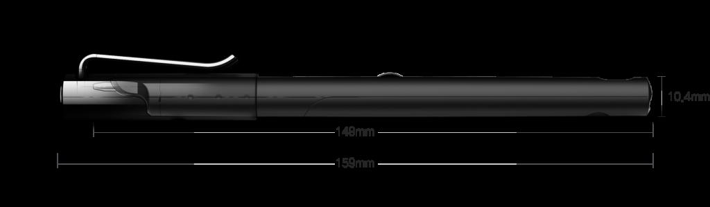 Neolab M1+ smart pen afmetingen