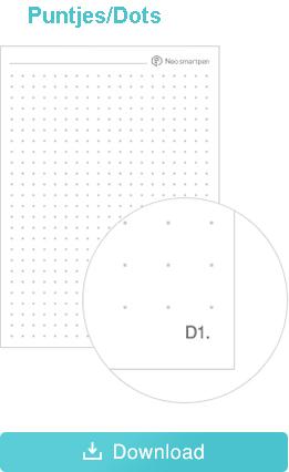 Ncode papier puntjes dots