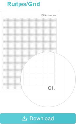 Ncode papier ruitjes