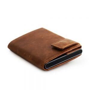 SecWal kaarthouder met portemonnee_leder_cognac bruin_10