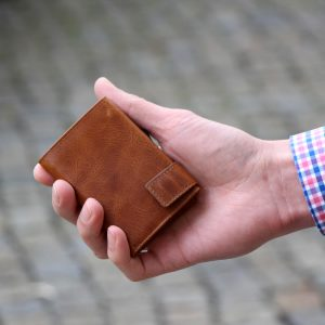 SecWal kaarthouder met portemonnee_leder_cognac bruin_8