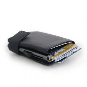 SecWal kaarthouder met portemonnee_leder_donkerblauw_10