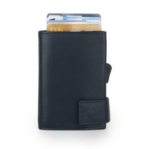 SecWal kaarthouder met portemonnee_leder_donkerblauw_2