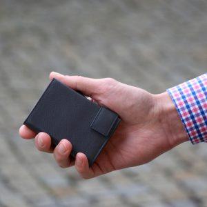 SecWal kaarthouder met portemonnee_leder_donkerblauw_8