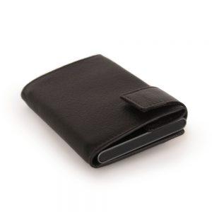 SecWal kaarthouder met portemonnee_leder_donkerbruin_10
