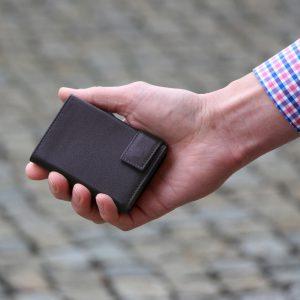SecWal kaarthouder met portemonnee_leder_donkerbruin_8