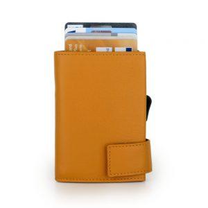 SecWal kaarthouder met portemonnee_leder_geel_2