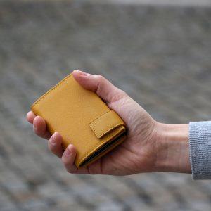 SecWal kaarthouder met portemonnee_leder_geel_8