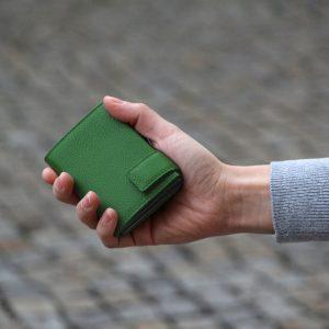 SecWal kaarthouder met portemonnee_leder_groen_9