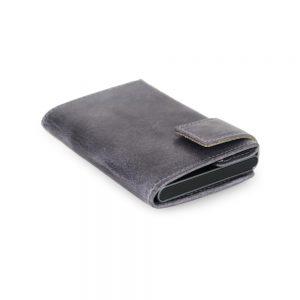 SecWal kaarthouder met portemonnee_leder_vintage grijs_10