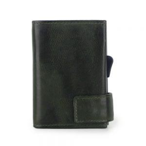 SecWal kaarthouder met portemonnee_leder_vintage groen_6