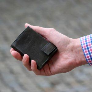 SecWal kaarthouder met portemonnee_leder_vintage groen_8