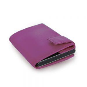 SecWal kaarthouder met portemonnee_leder_violet_11