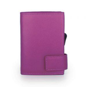 SecWal kaarthouder met portemonnee_leder_violet_6