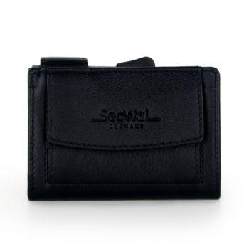 Secwal kaarthoude portemonnee zwart