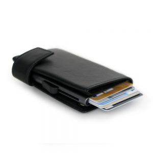 SecWal kaarthouder met portemonnee_leder_zwart_11