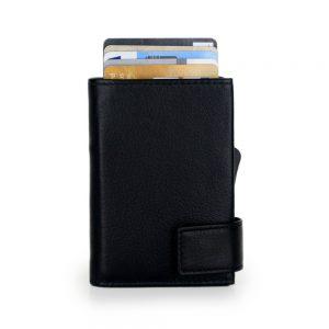 SecWal kaarthouder met portemonnee_leder_zwart_2