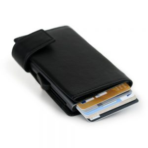 SecWal kaarthouder met portemonnee_leder_zwart_3