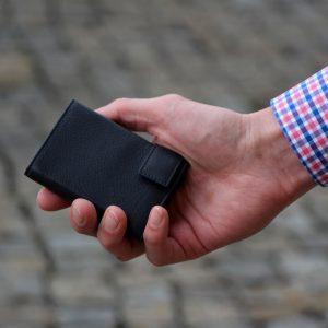 SecWal kaarthouder met portemonnee_leder_zwart_8