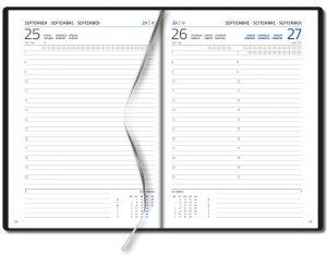 Agenda 2021 business timer 1 dag per pagina