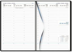 Agenda 2021 Amsterdam 1 week per 2 pagina's