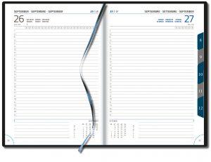 Agenda Directeur 1 dag per pagina halfuursindeling