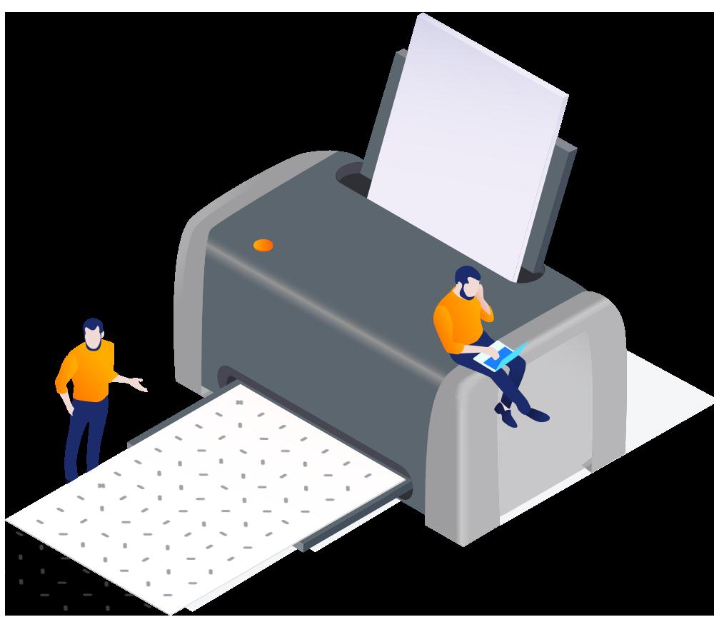 Ncode papier zelf printen