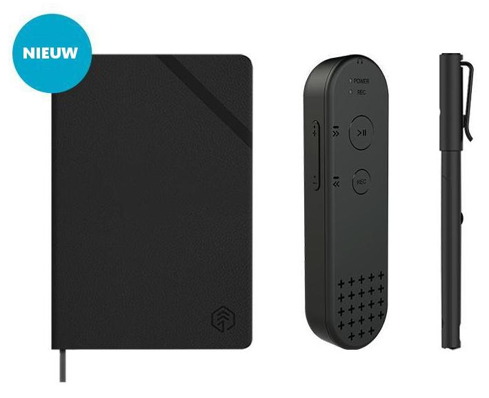Set Reco recorder Smart pen en Ncode notitieboek