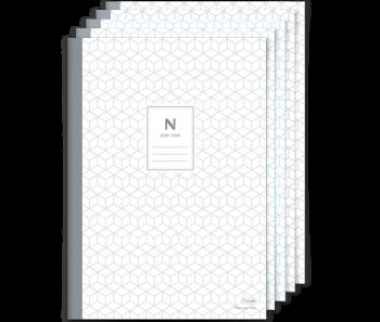 Ncode schrijfblok A4