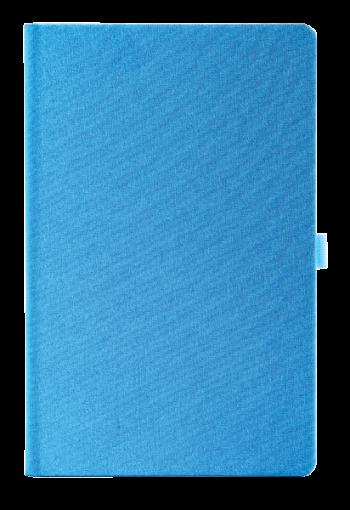 linnen notitieboek met eigen logo