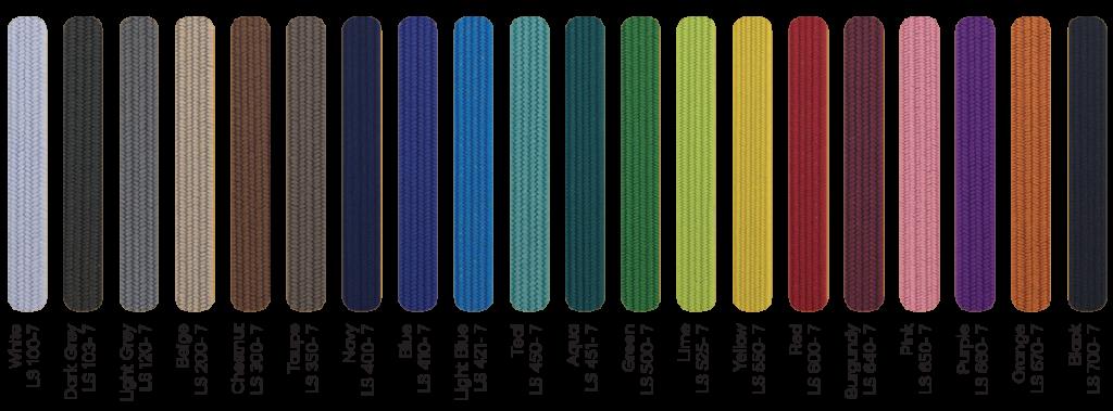 elastiek voor notitieboek kleurenassortiment
