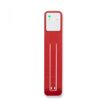 Moleskine leeslamp rood bedrukt met eigen logo