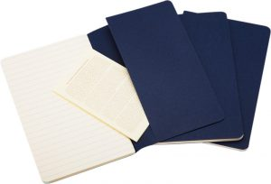 Moleskine cahier blauw_2