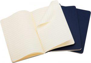 Moleskine cahier blauw_3