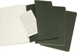 Moleskine cahier groen_2