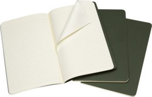 Moleskine cahier groen_3