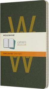 Moleskine cahier groen_7
