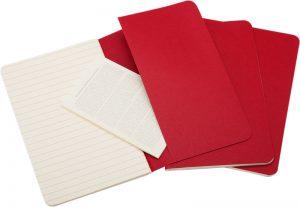 Moleskine cahier rood_2