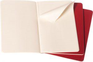 Moleskine cahier rood_3