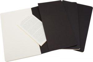 Moleskine cahier zwart_2