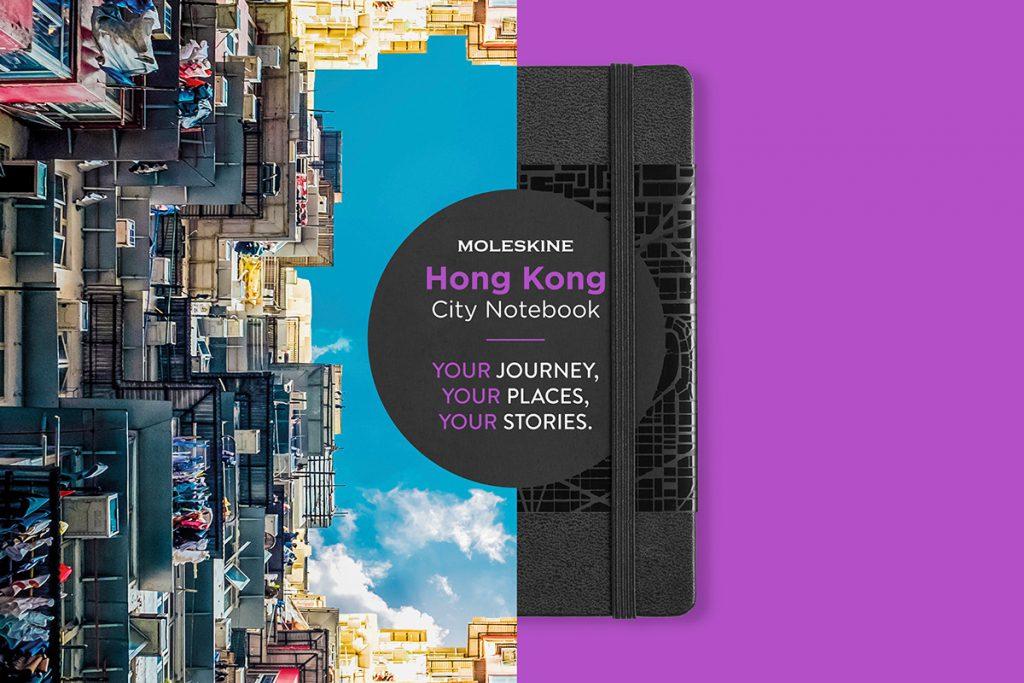 Moleskine City Notebook met eigen logo bedrukt