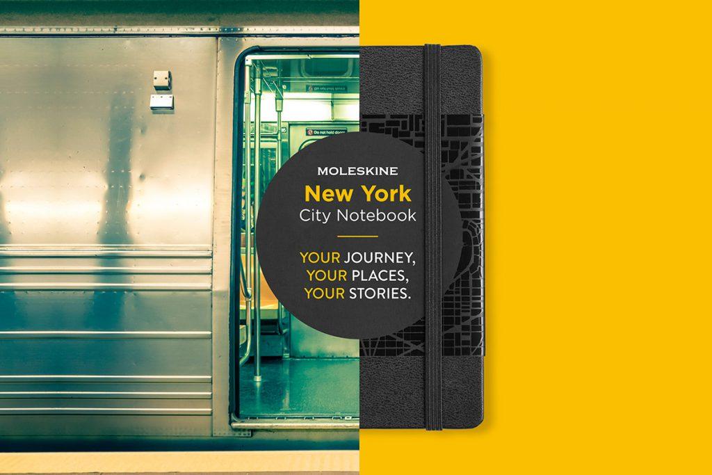 city notebook met eigen logo new york