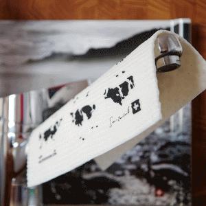 vaatdoek poetsdoek met logo