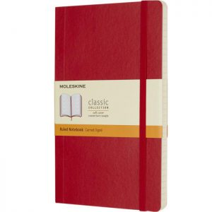 Moleskine Softcover Red_1