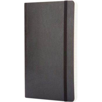 Moleskine boek softcover zwart bedrukken met logo