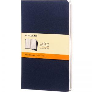 Moleskine cahier blauw_1